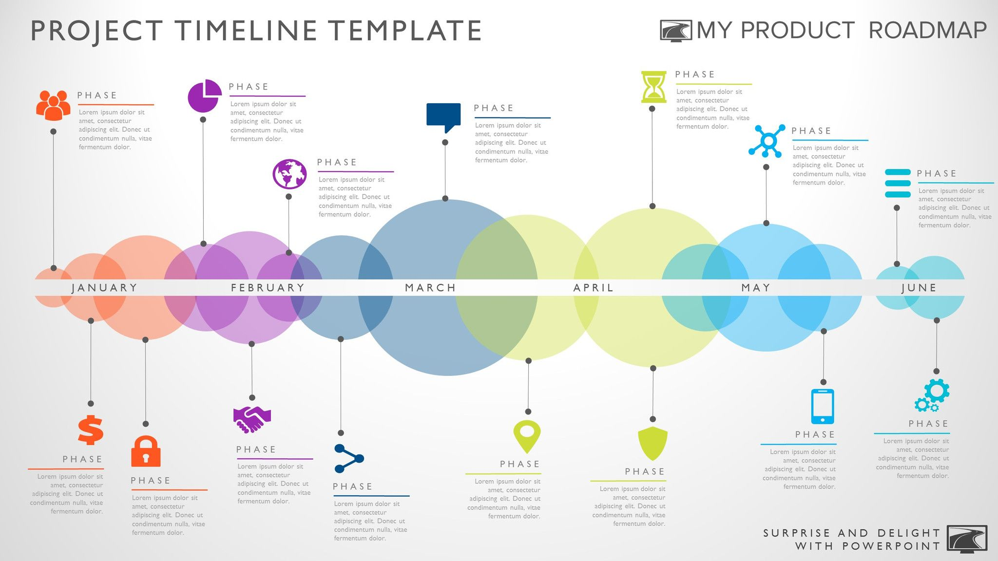 fifteen phase creative timeline slide smart pinterest timeline
