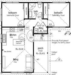 Image result for floor plans l-shaped 2 bedroom granny flats ...