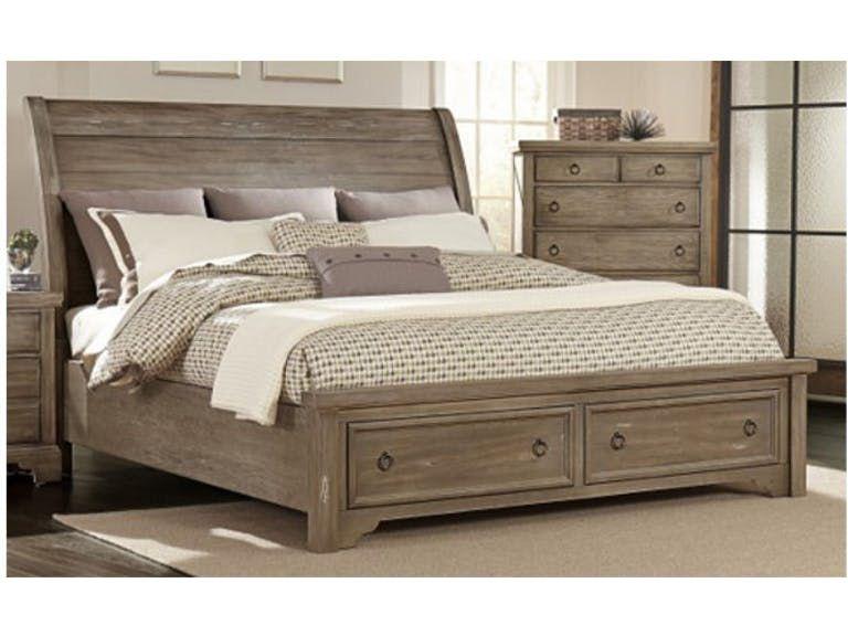 Vaughan Bassett King Storage Bed 680027 Talsma Furniture