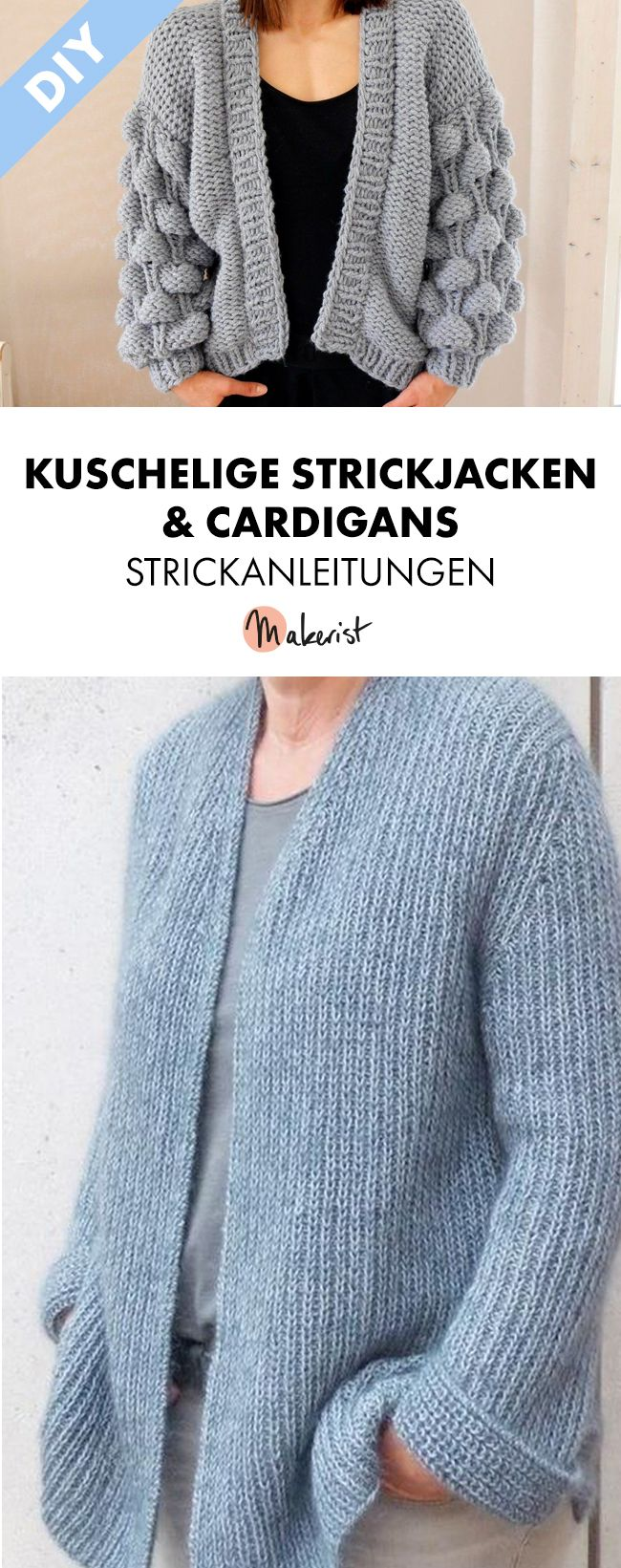 Photo of Strickjacken und Cardigans stricken