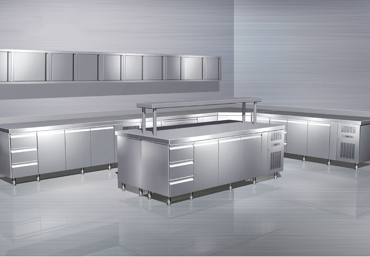 Commercial Kitchen 3d Design 3d Kitchen Design Stainless Steel Products 3d Kitchen Design