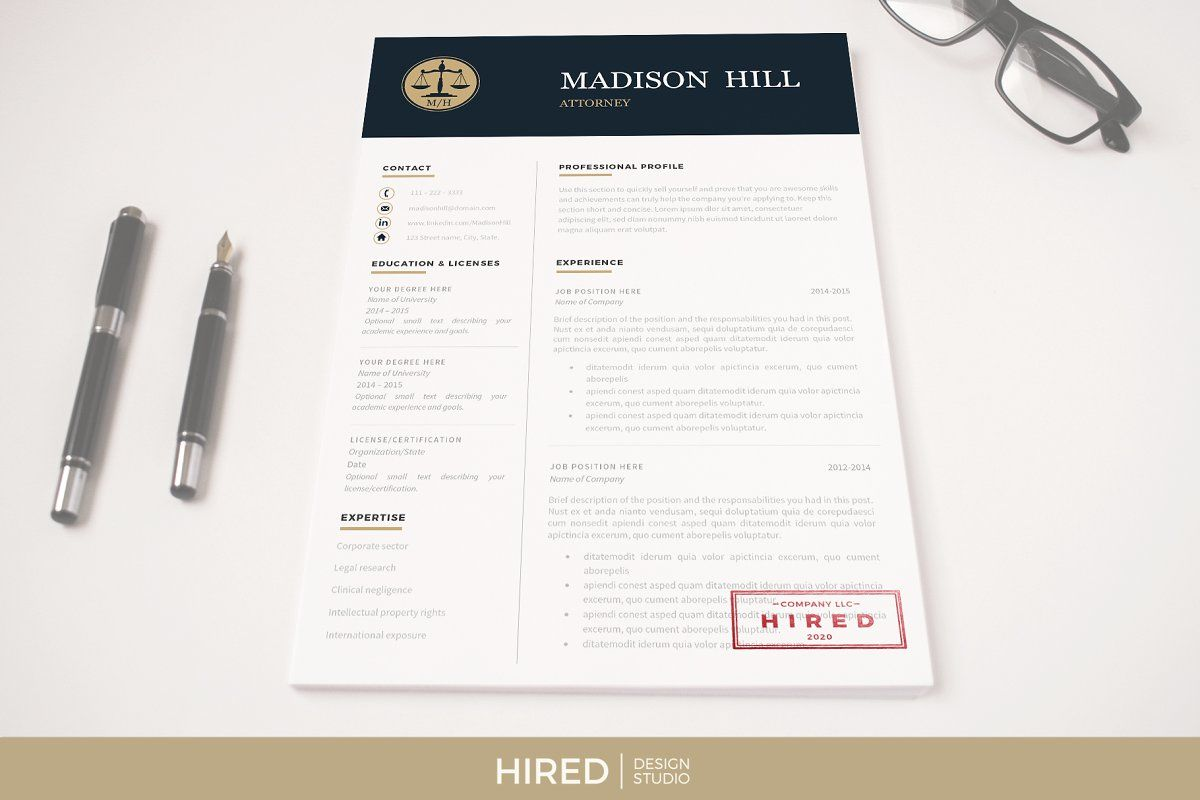 Attorney resume template lawyer cv in 2020 resume