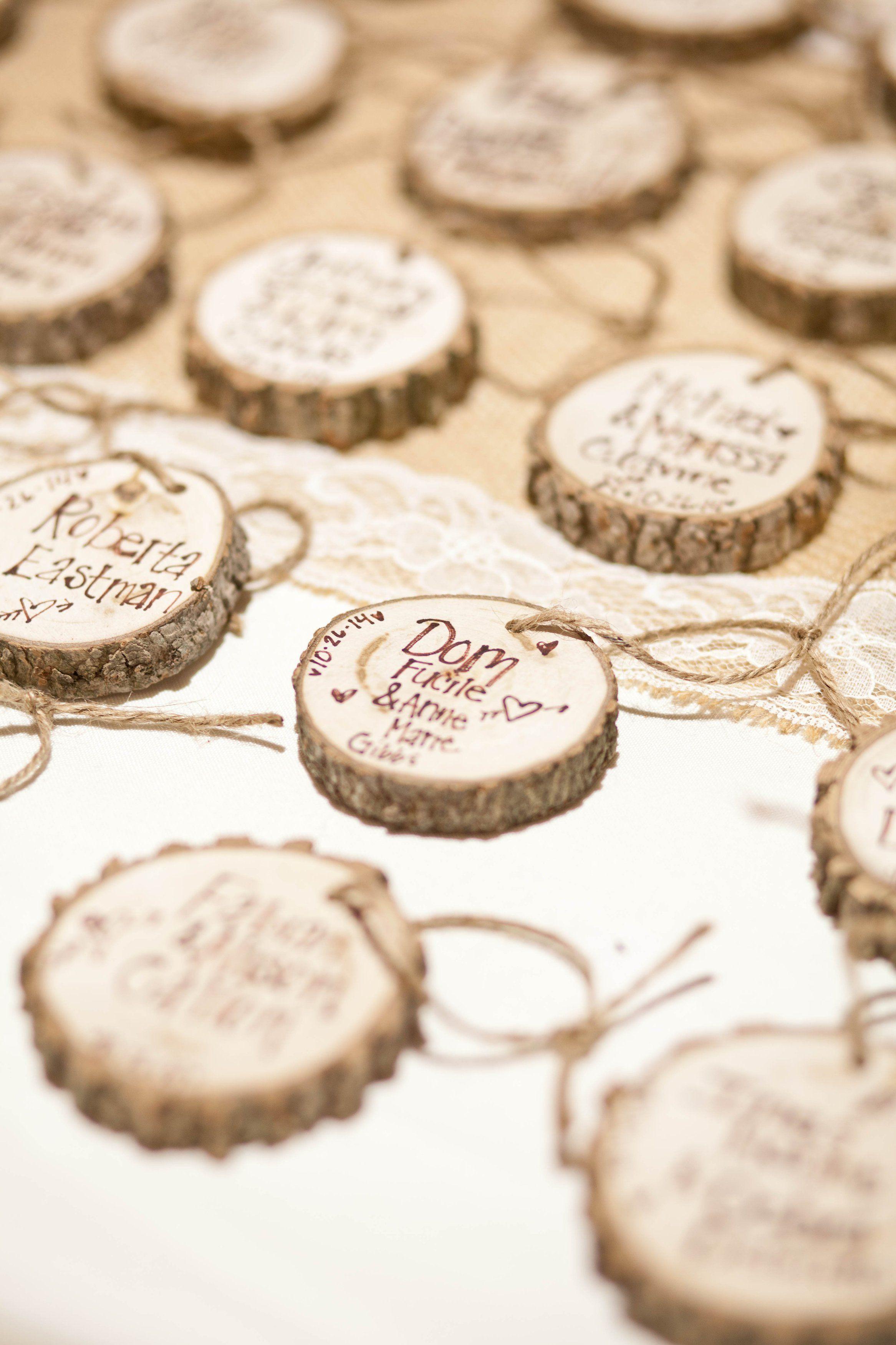 Segnaposto Matrimonio Legno.Fall New England Farm Wedding Elementi Di Legno Idee Di Legno