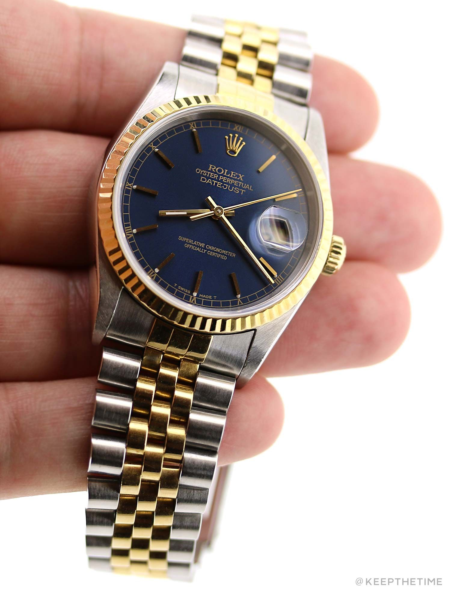 dial watch bezel i mens diamond datejust rolex watches metiorite fluted blue