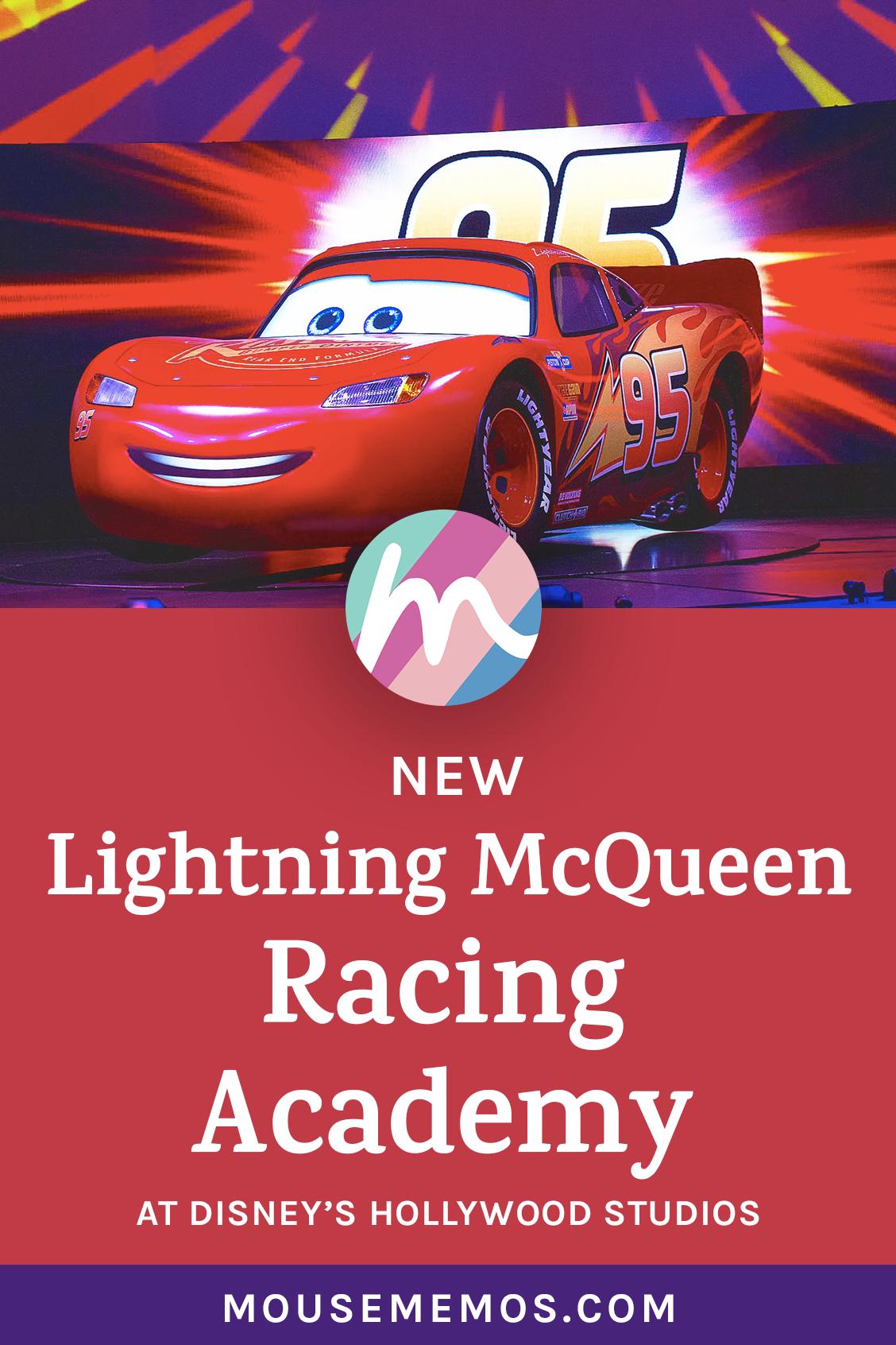 New Lighting Mcqueen S Racing Academy Opened March 31 Lighting Mcqueen S Racing Academy Invites Hollywood Studios Disney Disney World News Hollywood Studios