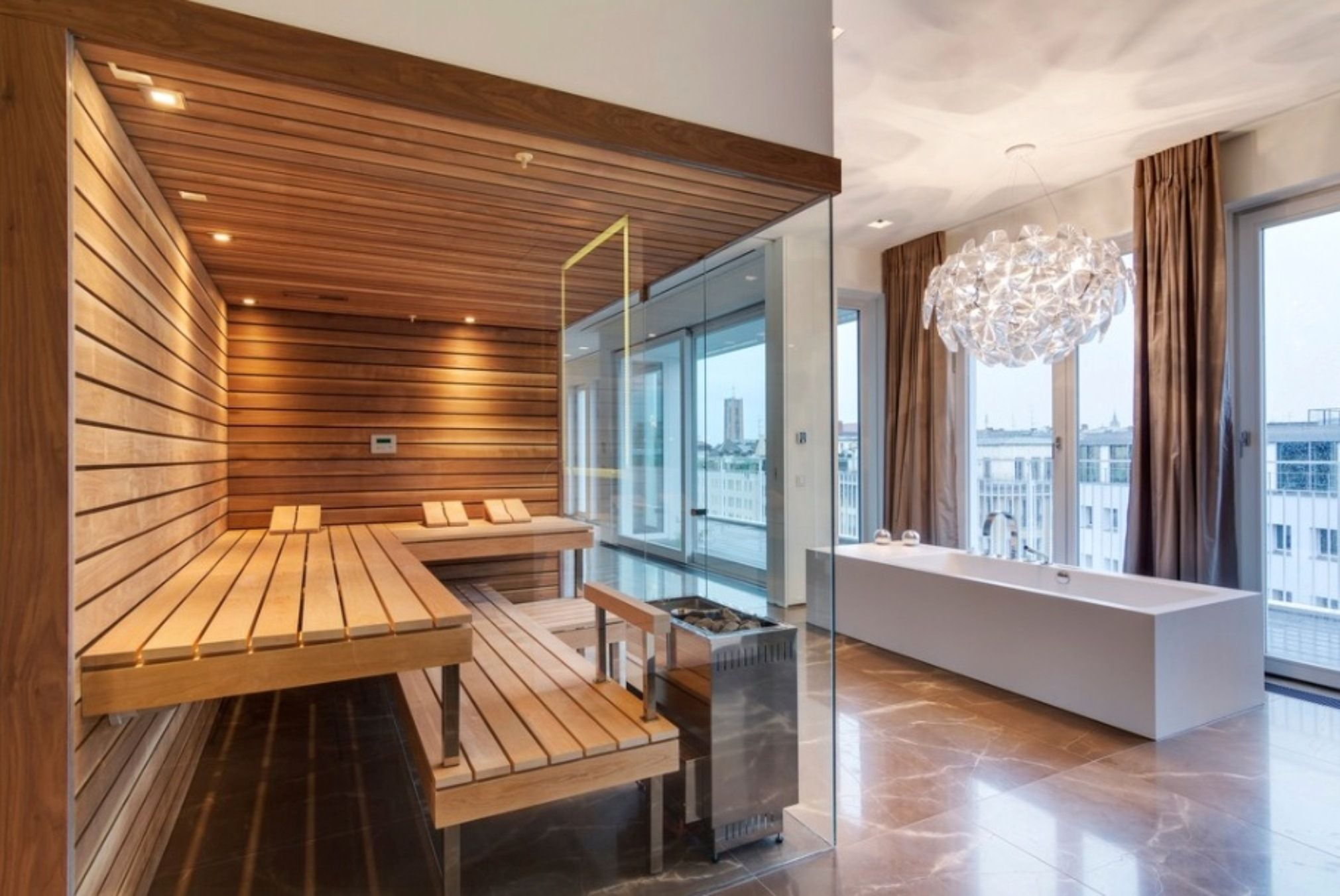 An Elegant Sauna Evening To Invite Your Guests To Is The Top Notch Dream  Event