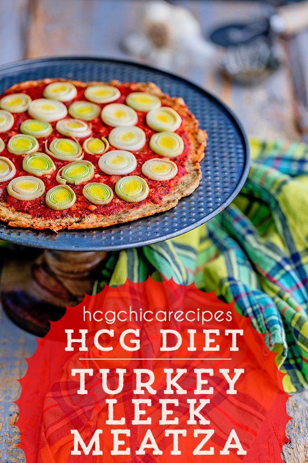 Phase 2 Hcg Diet Recipe Turkey Leek Meatza Ap Recipe In 2019