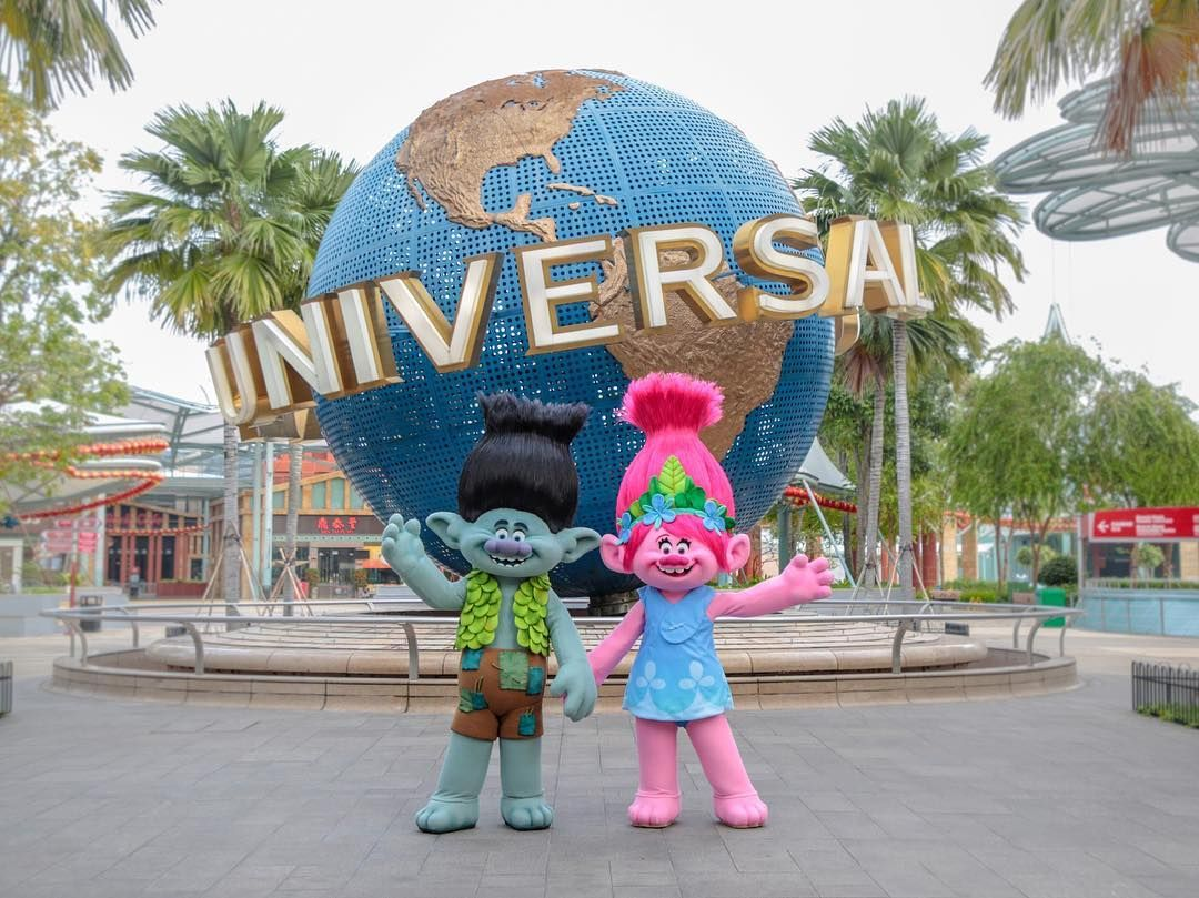 The Trolls Have Landed Find Your Happy Place With Them In Trollstopia At Universal Universal Studios Singapore Universal Studios Universal Studios Theme Park