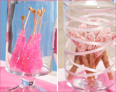 Candy Jars Can Be Used For Chocolate Covered Pretzels