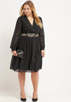 4eff0b1a5198 Little Mistress Curvy - Cocktailkleid / festliches Kleid - black ...