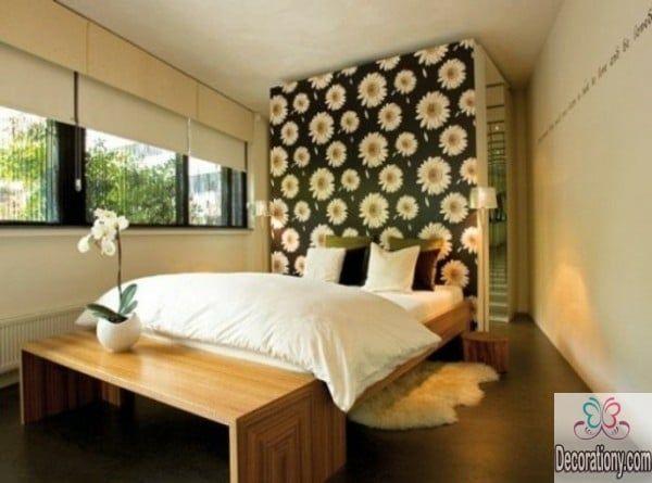Modern Walkin Wardrobe Behind Bed designs Walk in closet