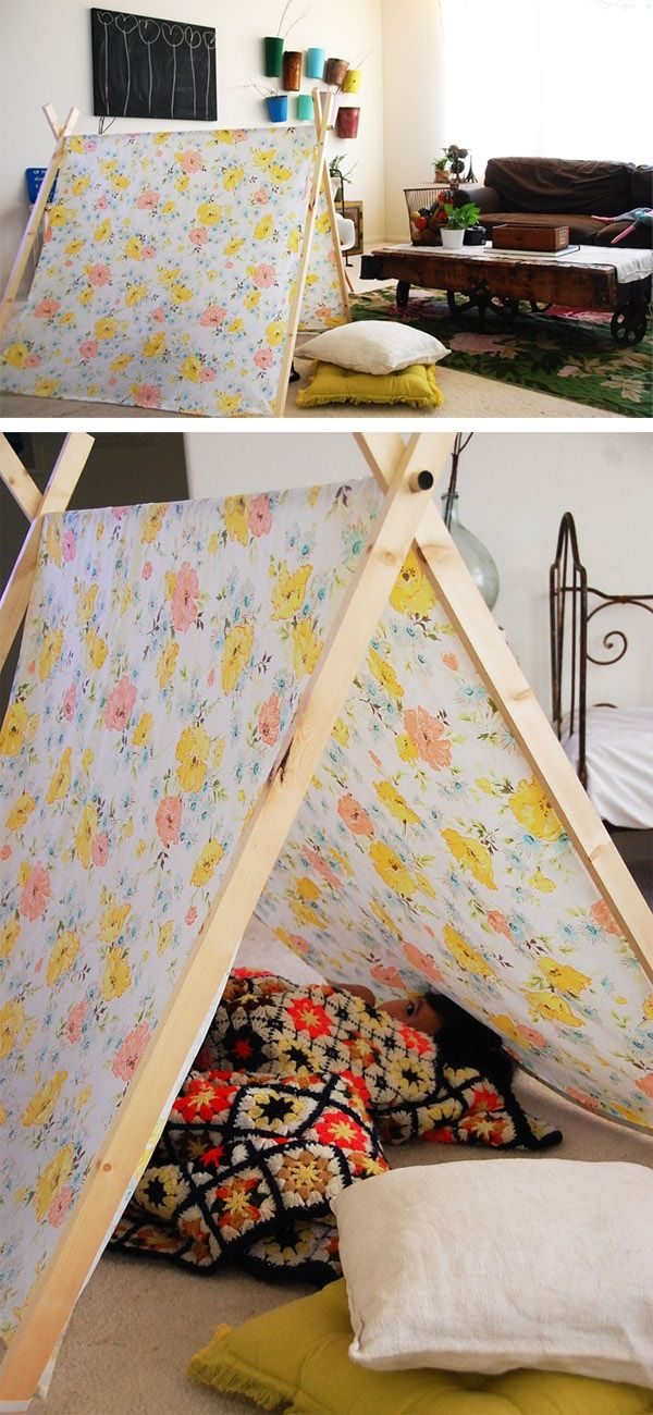 homemade-tent | Life with Boys | Pinterest | Tents, Papercraft and ...