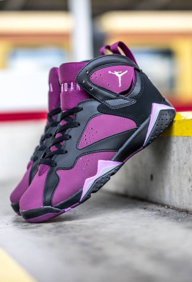 best sneakers 3ce6f 3a89e Nike Air Jordan VII GG  Mulberry