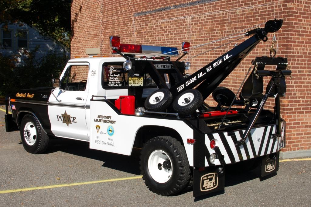 1978 F 350 Holmes 440 Police Wrecker For Sale In Vintage Ford Trucks Tow Truck Wrecker