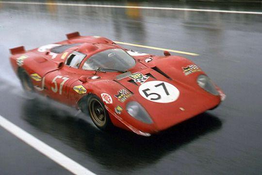 Sport Prototipo Ferrari Racing Classic Sports Cars Race Cars