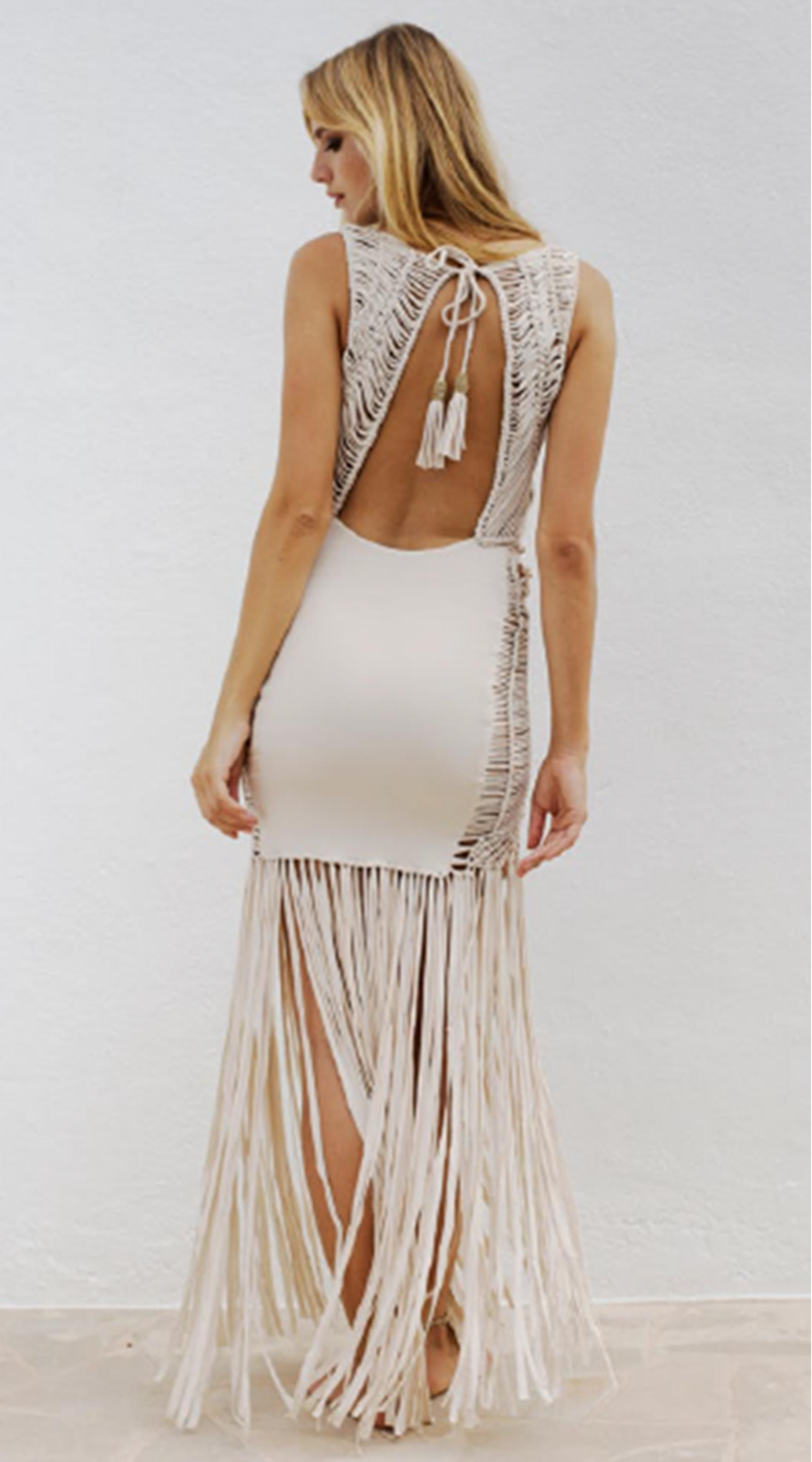 Hot tassels, fringe and marcrame make this Paloma Dress by Flook 100% show-stopping stunning! . . . . #liberalstyle #daisies #flowers #indooroopillyshopping #lvl3 #bohemian  #clothesshop #ootdinspo #love #instagood #cute #photooftheday #picoftheday #beach #beautiful #instadaily #summer #fashion #sun #style #smile #beauty #ootd #me #look #instafashion #fashionable #fashionstyle #styleyourlife #onlineshopping #shopping #shoponline #boho #outfit  #instastyle #bohostyle