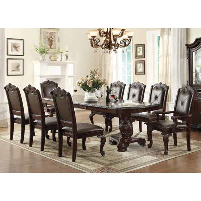 Discount Dining Room Furniture Sets Adorable Alexandria Dining  Dining Table & 4 Dining Chairs 2150T Design Ideas