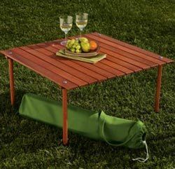 Table In A Bag From Crate Barrel In 2019 Picnic Table Picnic