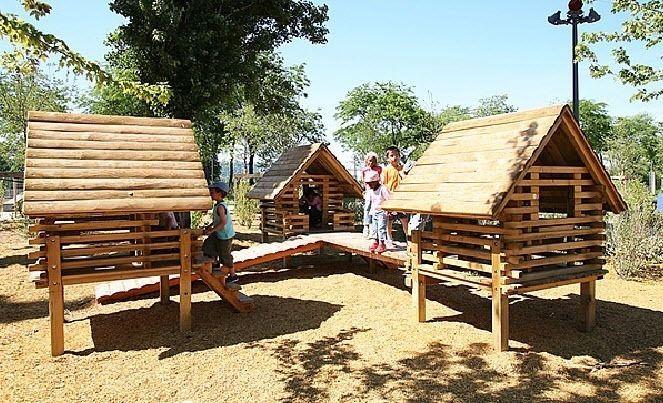 cabane pour enfant pour aire de jeux divers cit cabane pinterest cabane pour enfant. Black Bedroom Furniture Sets. Home Design Ideas