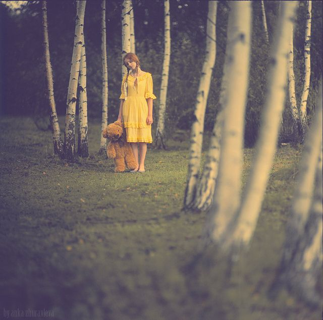 Once upon a time, there was a me,  by Anka Zhuravleva  #Photography
