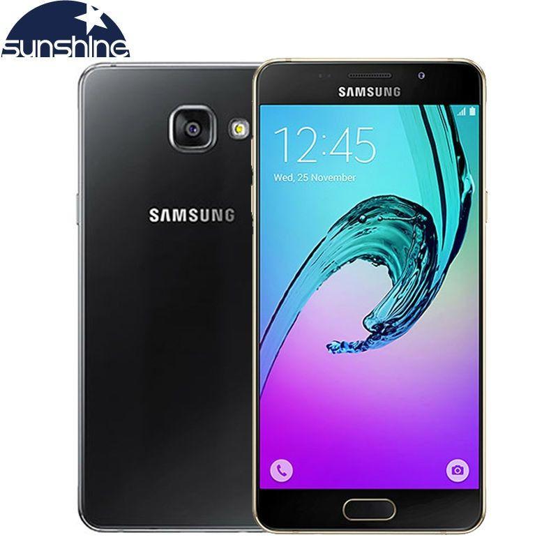 2016 Original Samsung Galaxy A5 A5100 4g Lte Android Mobile Phone Octa Core 5 2 13 0mp Dual Sim Samrtphone 2g Ram 16 Samsung Samsung Galaxy Samsung Galaxy A3