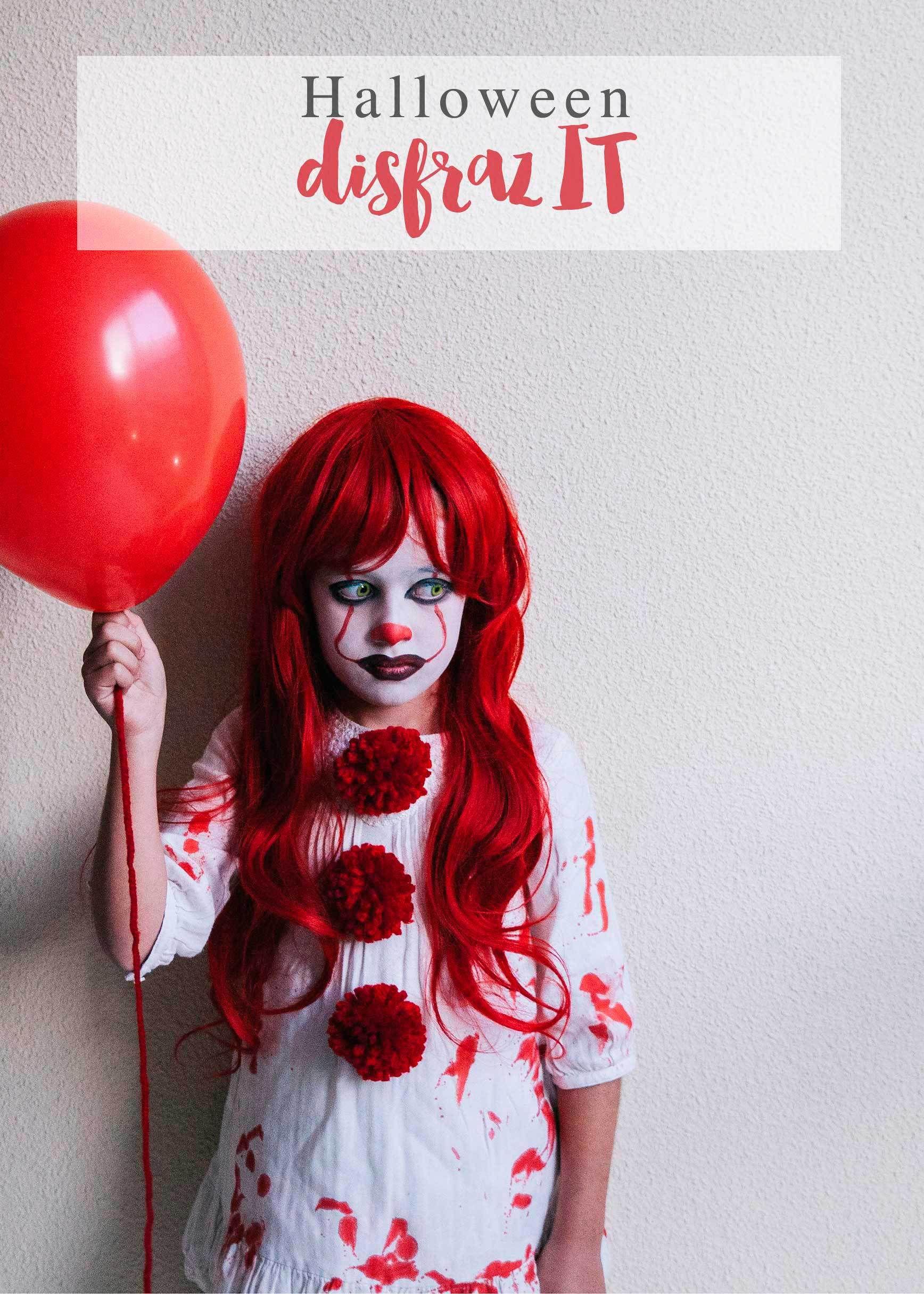 Disfraz casero de IT Disfraces de halloween para niños