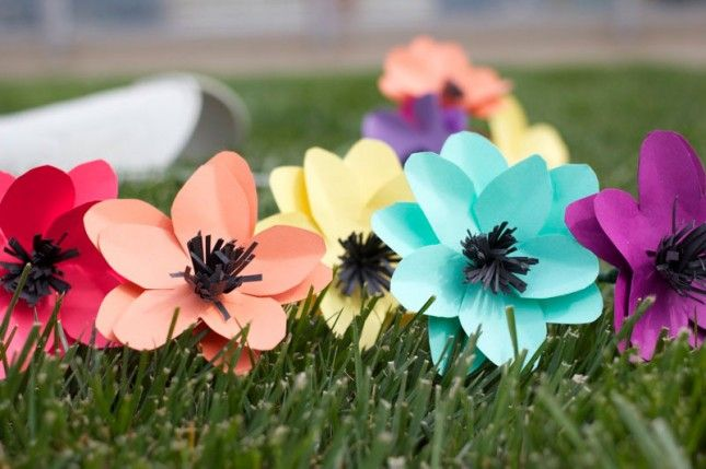 Make pretty paper flowers in under 10 minutes goodie bags super make pretty paper flowers in under 10 minutes mightylinksfo