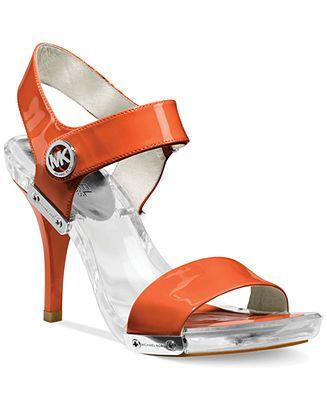 MICHAEL Michael Kors Lani Platform Sandals - Shop All Michael Kors Shoes - Shoes - Macy's
