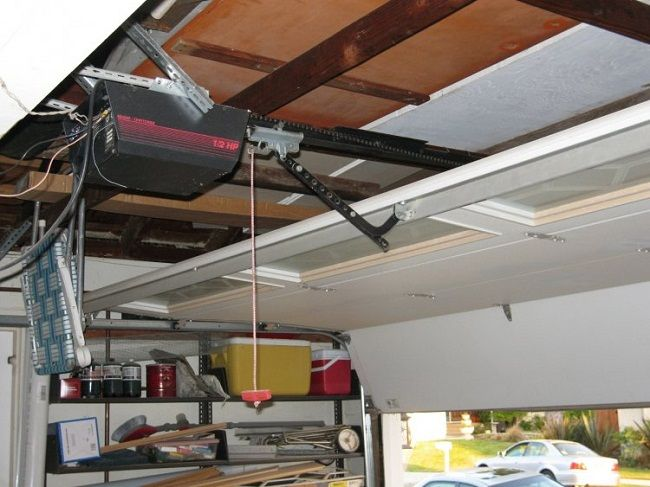 Low Profile Garage Door Opener Door Designs Plans Door