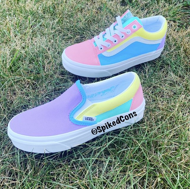 Custom Unicorn 🦄  Slip On Vans