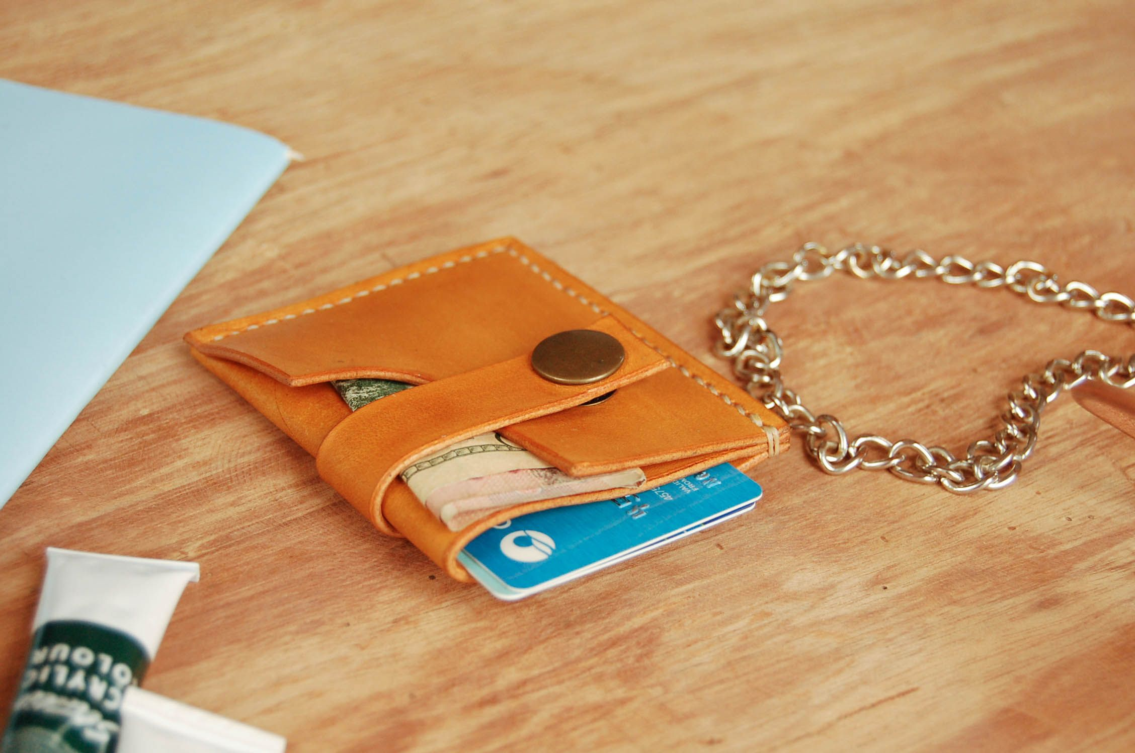 Leather Crafts by UnimiStore are Hand sewn veg leather items like ...
