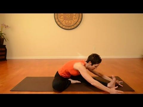 how to stretch the back of the leg  exercise  yoga