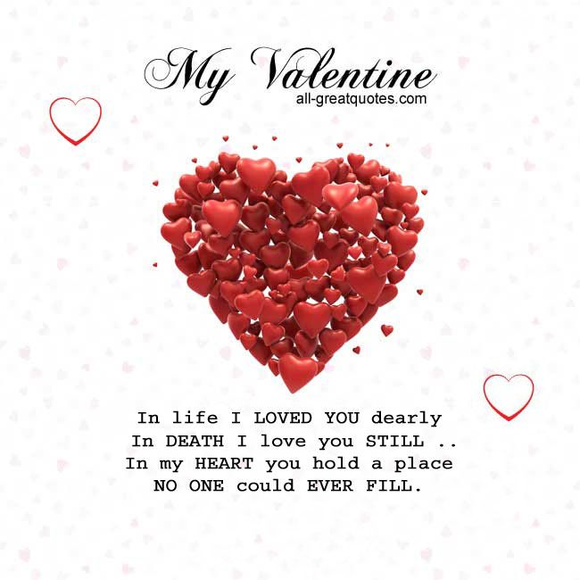 Image result for valentines day in memory of dead