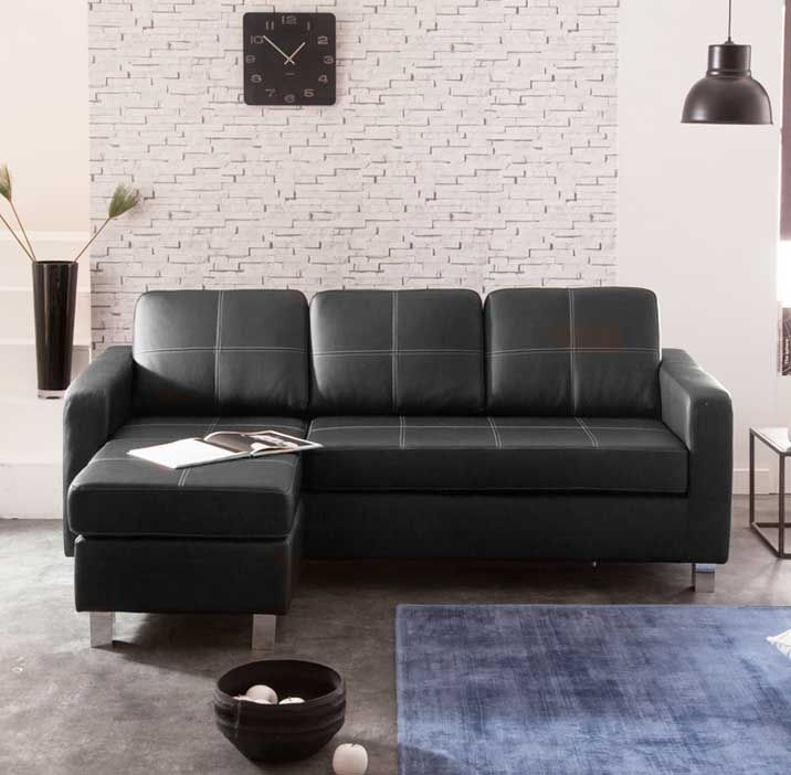 Kleines Ecksofa Mit Schlaffunktion Im Wohnzimmer Home Decor Home Decor