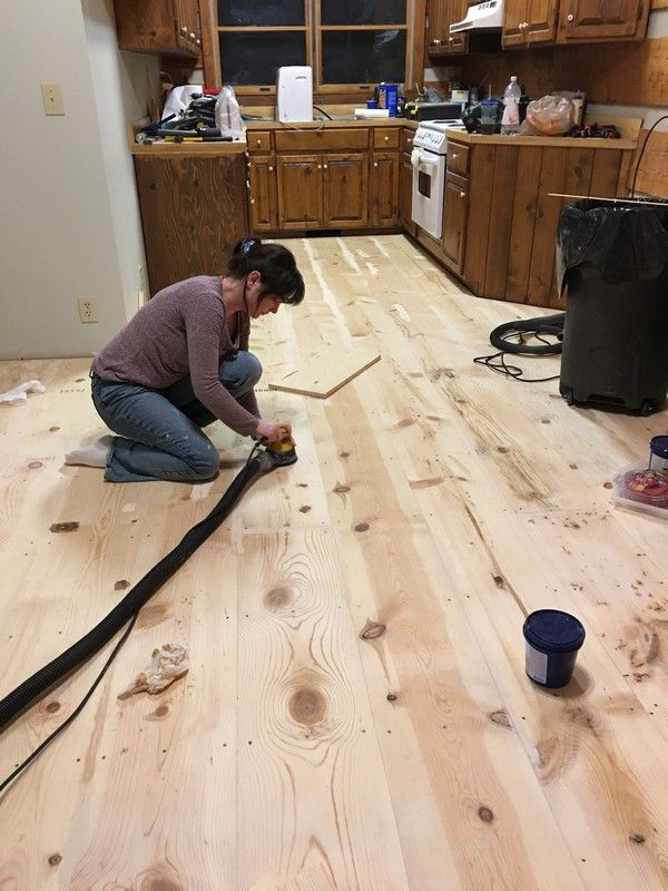 How to Install Pine Floors Pine flooring Wide plank and Pine