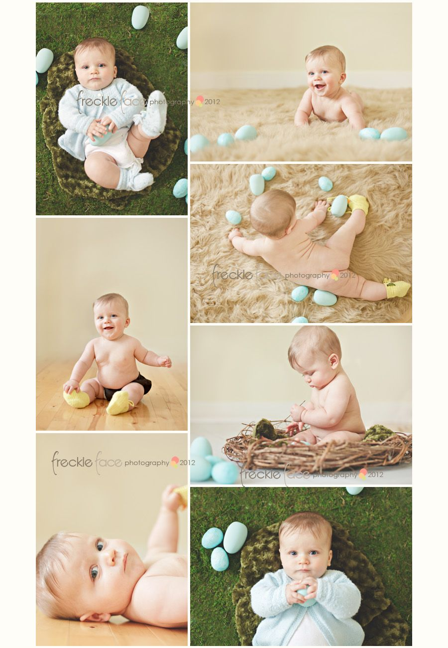 Adorable 6 month old photo shoot by frecklefacephotography 6 month picture ideas for baby boys bing images negle Images