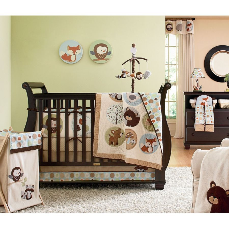 Baby bedding lamb theme sweet pea lamb baby bedding and nursery - Carter S Forest Friends 4 Piece Crib Bedding Set Delight Your Baby Girl Or Boy With Carter S Forest Friends Crib Bedding Set Playful Forest Critters Are