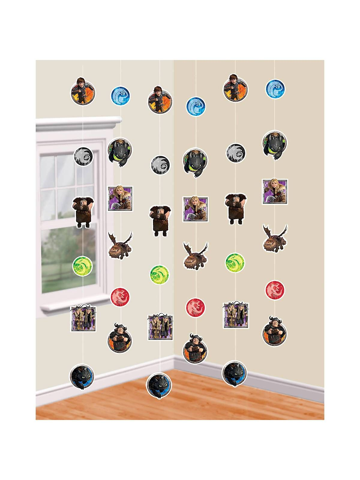 How to Train Your Dragon 6\' Hanging String Decorations | Wholesale ...