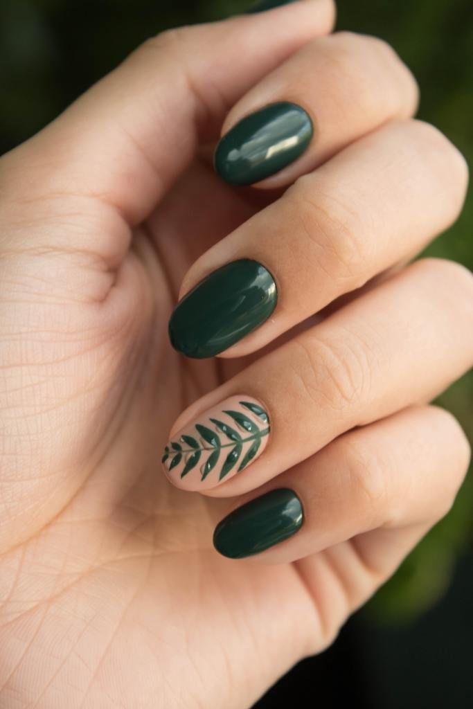 Spring Nail Colours And Nail Art Ideas Spring Nail Colors Green