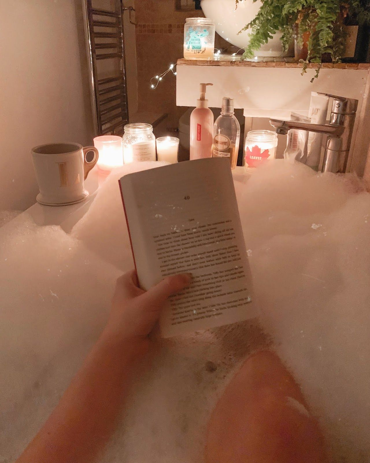 An At-Home Self Care Routine