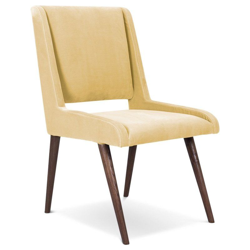 Mid Century Upholstered Dining Chair Union Terrace In 2019