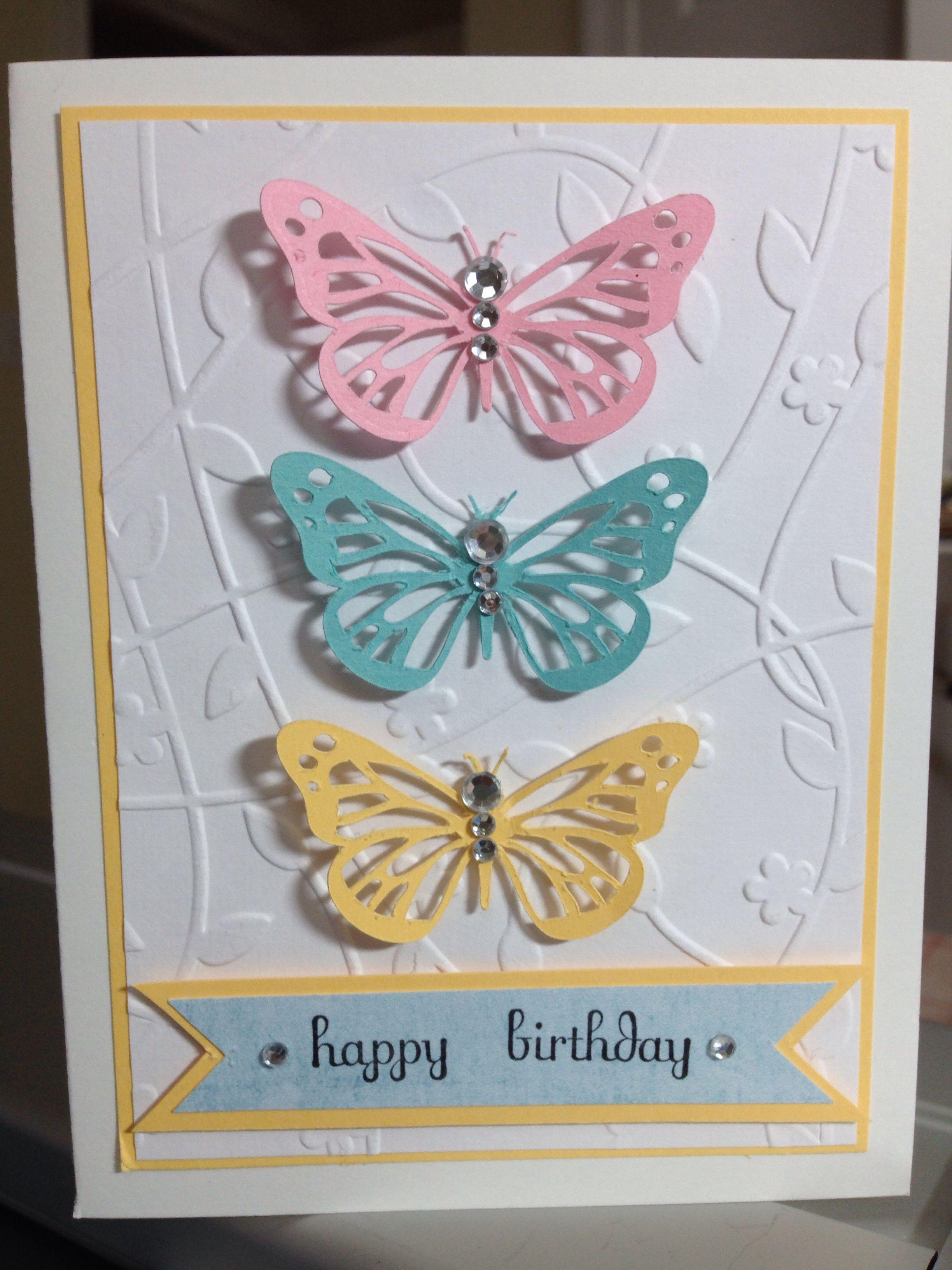 Butterfly Birthday Card Butterfly Birthday Cards Birthday Cards Birthday Cards For Women
