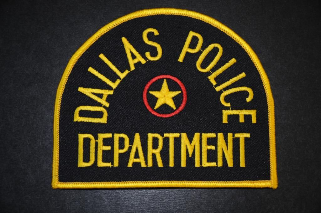 Dallas Police Patch, Dallas County, Texas (Current Issue
