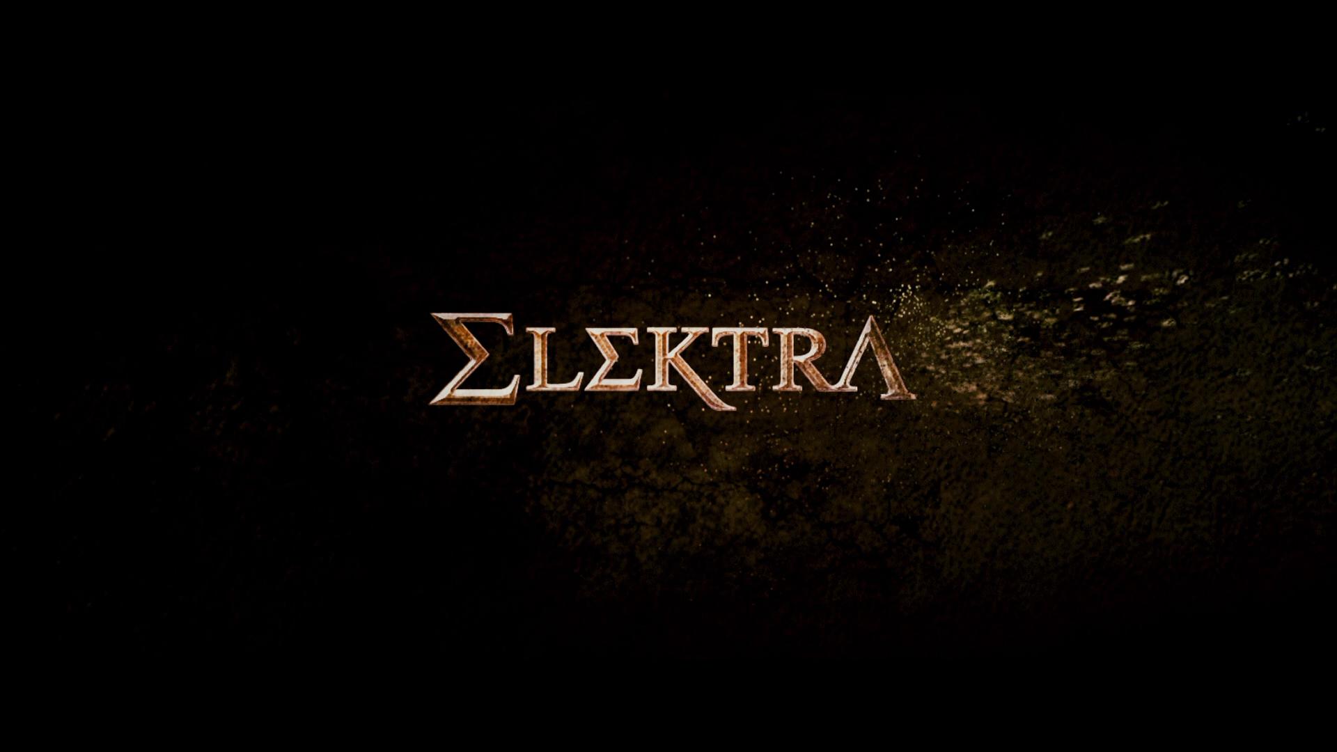 Elektra - Opening Title Logo