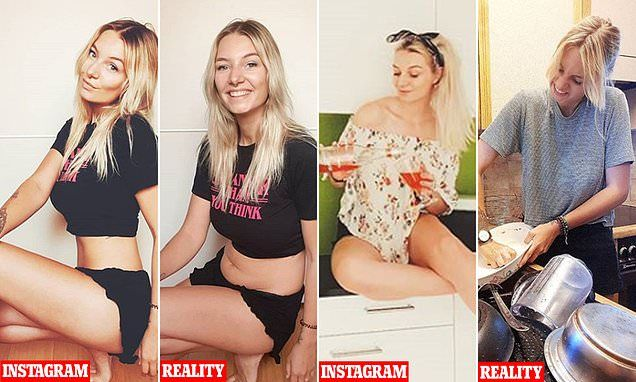 Body positive Instagrammer shares the truth behind pictures