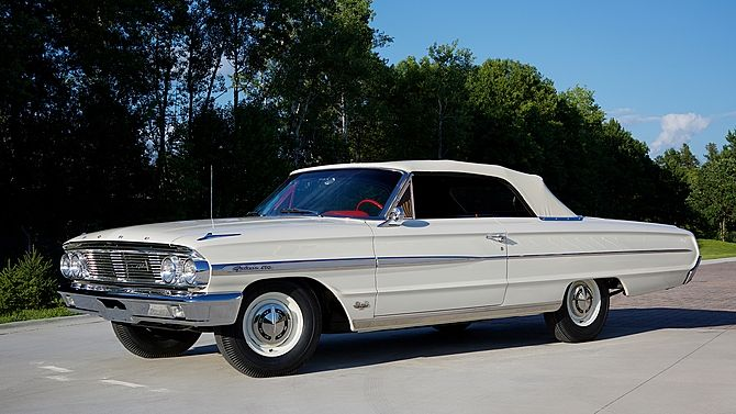 1964 Ford Galaxie 500 Convertible R Code 427 425 Hp 4 Speed
