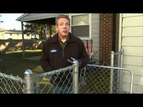 How To Install A Chain Link Fence Chain Link Fence Chain Link