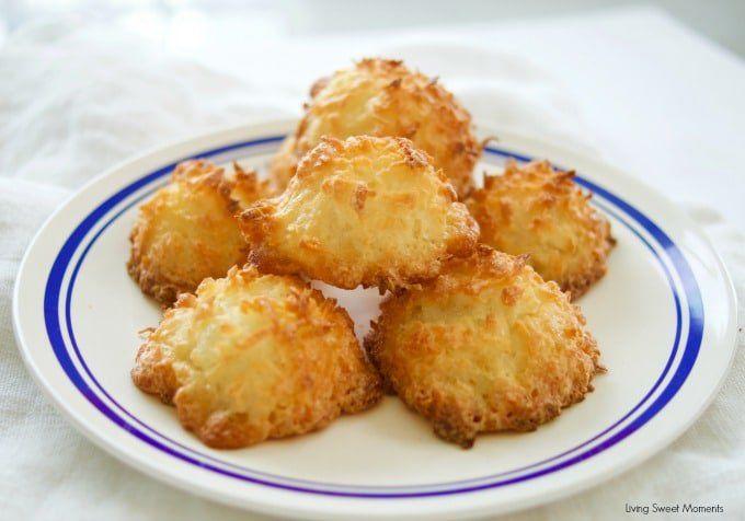 3 Ingredient Coconut Macaroons Recipe Macaroon Cookies