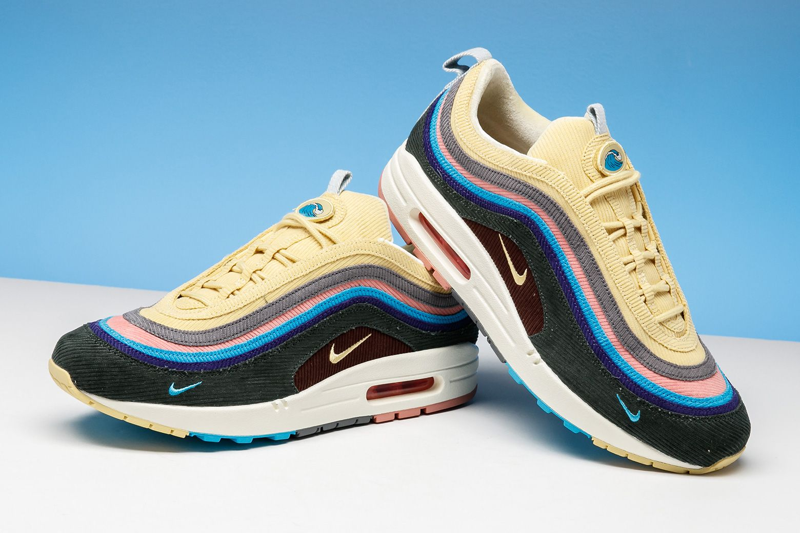 online retailer d878e 3ff1e Sneaker Trivia  Who collaborated with Nike on this Air Max 1 97 hybrid