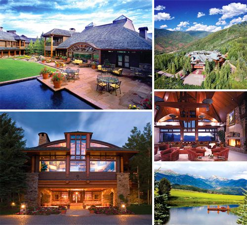 The Hala Ranch Estate North Of Aspen Colorado Was One Of The Most